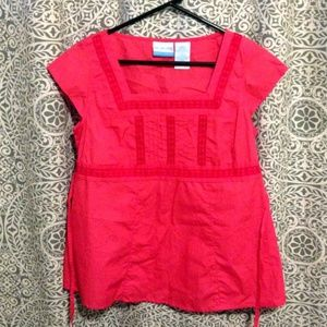 Announcements maternity top, size small